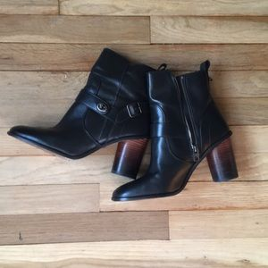 Coach booties size 10